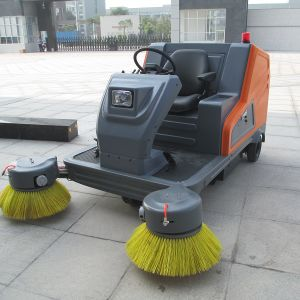 Lead-Acid Battery High Efficiency Electric Road Sweeper (DQS18/18A) pictures & photos