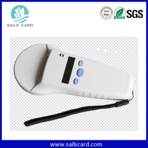 High Quality ISO 11784/5 Fdx-B Handheld RFID Reader for Animal pictures & photos