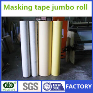 Professional Supplier Crepe Paper Masking Tape Jumbo Roll Manufacturer pictures & photos