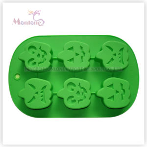 FDA & LFGB Bakeware Baking Halloween-Shaped Silicone Cake Mould pictures & photos