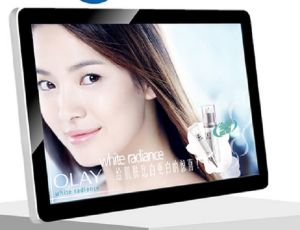 32inch Wall Mounted Protrait and Landscape Modes Network Version with WiFi LCD Advertising Display pictures & photos