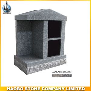Cheap Grey Granite Stone 2 Niches Columbarium for Cemetery pictures & photos