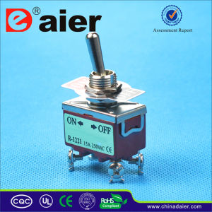 E-Ten 4pin Double Pole Toggle Switch on-off (KN3(C)-201) pictures & photos