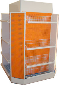 Revolving Supermarket Rack for Display pictures & photos