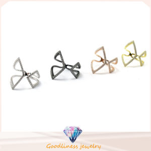 Hot Sale Sterling Silver Fashion Jewelry Butterfly Shape Ring (A2R084) pictures & photos