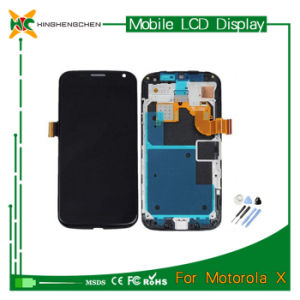 Made in China Cheap LCD Display for Motorola X pictures & photos