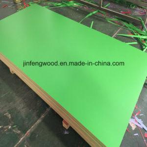 Shining High Popular Need Lemon Green Melamine MDF Board 1220*2440*17mm pictures & photos