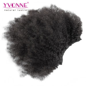 New Arrival Afro Kinky Clip in Human Hair Extension pictures & photos