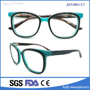 Newest Fashion Custom Design Acetate Optical Frame with Owner Brand pictures & photos