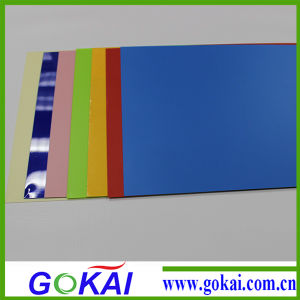 Latin American Bluish PVC Rigid Sheet pictures & photos