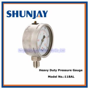 Heavy Duty IP65 All Stainless Steel Pressure Gauge