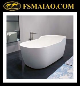 Brand-New Design Solid Surface Bathtub (BS-8625) pictures & photos