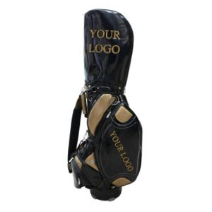 4 Detachable Pockets PU Golf Bag pictures & photos
