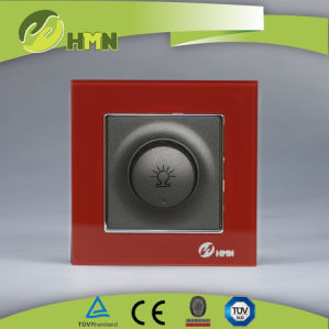 European Thoughened Glass Light Dimmer Switch pictures & photos