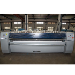 Three Rollers Fully-Automatic Flatwork Ironer Industrial Laundry Roller Ironing Machine pictures & photos