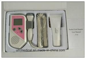 Hot-Pocket Fetal Heart Rate Doppler (2 colors: pink/purple) pictures & photos