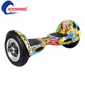 "Koowheel 10"" Hip Hop Electric Scooter Two-Wheel Self Balancing Air Board Skateboard pictures & photos"