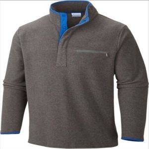 2015 Mens Half-Zipper Pullover Winter Fleece Jacket pictures & photos