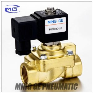 Ming Ge 2 Way Solenoid Valve Control Valve (40bar DN20, 3/4 inch, 321H36, Normally closed)