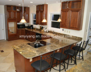 Popular Gold Granite Countertop for Kitchen /Bathroom (YQC-GC1003) pictures & photos