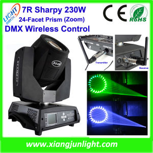 7r Sharpy 230W Moving Head Stage Light RGBW Wash pictures & photos