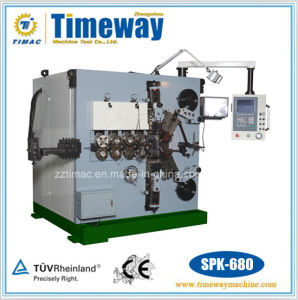 Six-Axis Full-Automatic CNC Press Spring Machine (Automatic Wire Spring Machine) pictures & photos