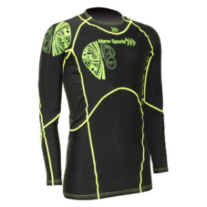 Sublimation Long Sleeve Rash Guard for Men pictures & photos
