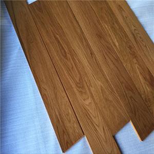 UV Coating Multilayer Teak Color Oak Dolls House Wooden Flooring pictures & photos