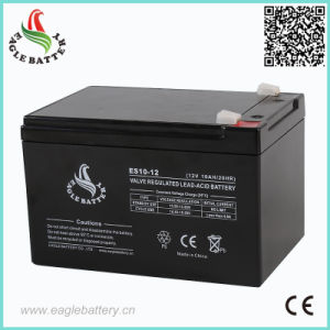 12V 10ah Mf Rechargeable SLA Solar Battery pictures & photos