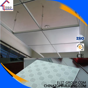 Gypsum Ceiling Tile/ PVC Gypsum Ceiling Tile for Ceiling pictures & photos