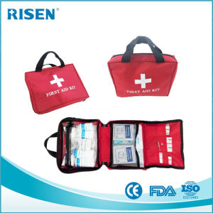 FDA Ce BSCI Approval Trauma Care 100 Pieces First Aid Kit Bags pictures & photos