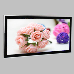 Aluminum Flat Frame LED Slim Line Light Box for Advertising pictures & photos