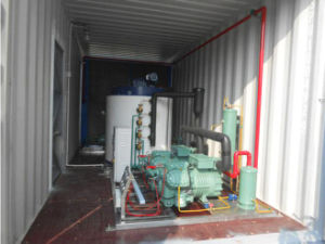 Flake Ice Machine with Bitzer Compressor for Food Processing pictures & photos