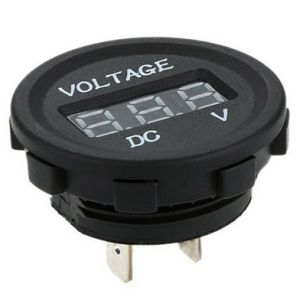 DC 12V Car Digital Voltmeter Socket with LED Display (DS-4010) pictures & photos