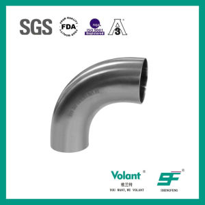 Stainless Steel Sanitary 90d Welded Elbow (SF1000003) pictures & photos