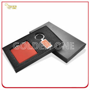 Metal Keychain and Leather Card Case Business Gift pictures & photos