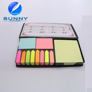 PU Leather Case Sticky Note with Calendar pictures & photos