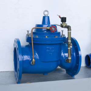 Ductile Iron Epoxy Coating Pressure Reducing Valve pictures & photos