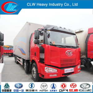 Faw 8*4 Refrigerated Truck Body pictures & photos