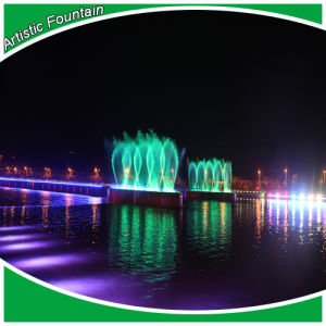 Fountain Accorss River Decoration