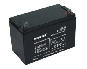 Solar System Sealed Lead Acid Battery 12V pictures & photos