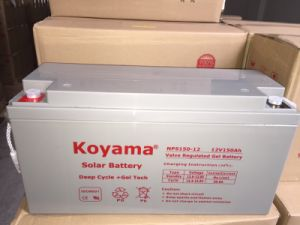 Factory Price Gel Battery Deep Cycle PV Solar Panel Battery 70ah 12V pictures & photos