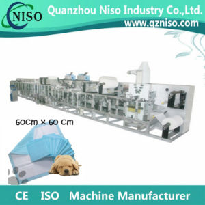 Full Servo Automatic Disposable Mattress Pad Machine with CE Certification pictures & photos