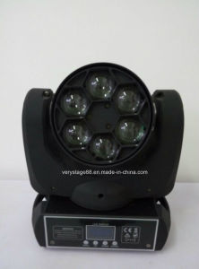 Moving Head Osram 6PCS 12W RGBW in 1 LED Bee Eye Disco Light pictures & photos