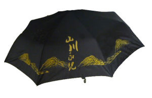 High Quality Black Promotional Folding Umbrella (BR-FU-146) pictures & photos