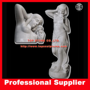 Rose Girl Stone Carving Marble Statue Sculpture pictures & photos