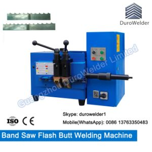 Steel Strip Butt Welder/Saw Flash Butt Welding Machine pictures & photos