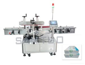 Carton Sealing Labeler/Label Applicator pictures & photos