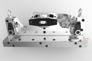 Hydraulic Workholding for Brake Caliper pictures & photos