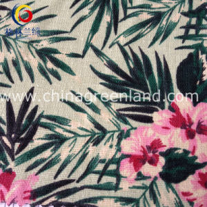 Cotton Linen Printed Fabric for Shirt Bags Garment (GLLML129) pictures & photos